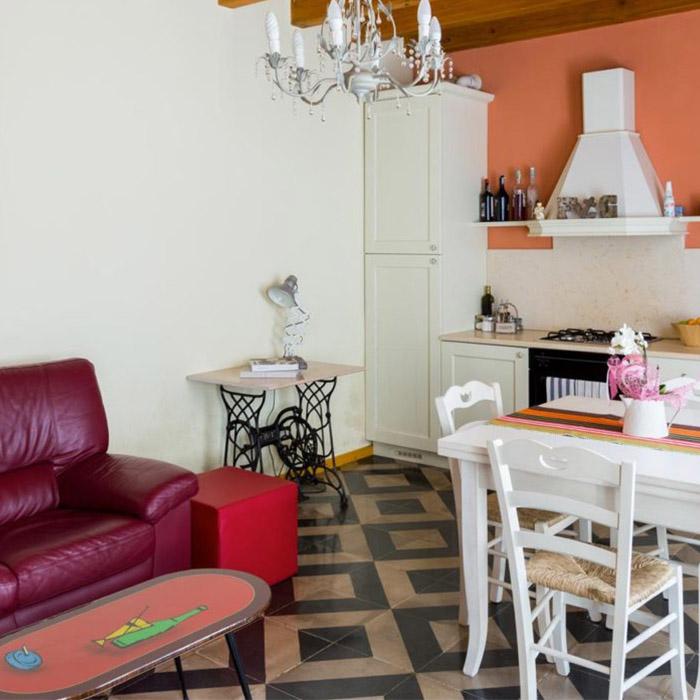 appartamento rondinella sala